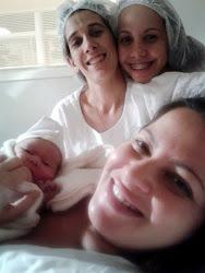 Nasceu o Danillo, após um longo trabalho de parto, em um parto normal humanizado!
