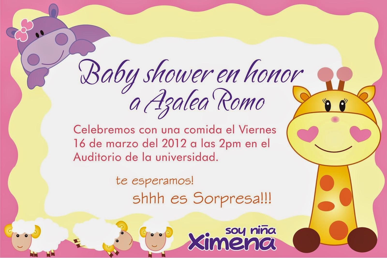 Tarjetas De Invitacin Para Baby Shower Nia Baby Shower Tarjetas De  Invitacin Para Baby Shower Nia With Ideas Para Baby Shower De Nia.