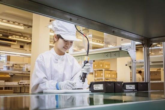 Dây chuyền sản xuất Smart Box của VNPT tại Hà Nội