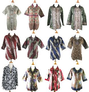 dan ukuran baju batik kerja wanita modern wujud cinta batik indonesia Baju Kerja Wanita Blazer Batik