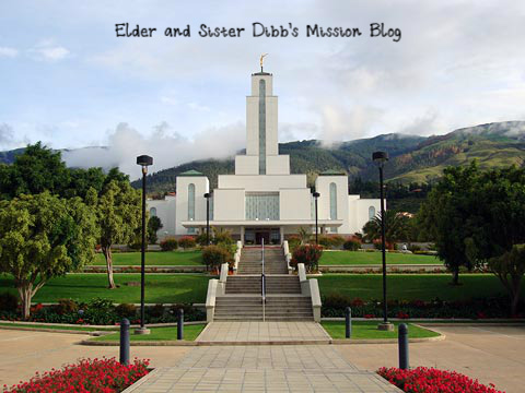 Elder and Sister Dibb's Mission Blog
