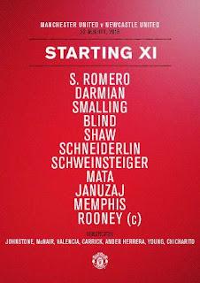 Manchester United vs Newcastle: Schweinsteiger Jadi Starter