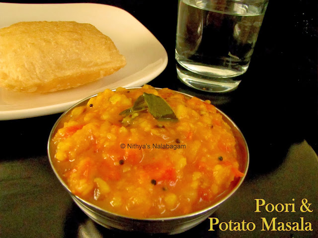 Fluffy Poori and Potato Masala with Video