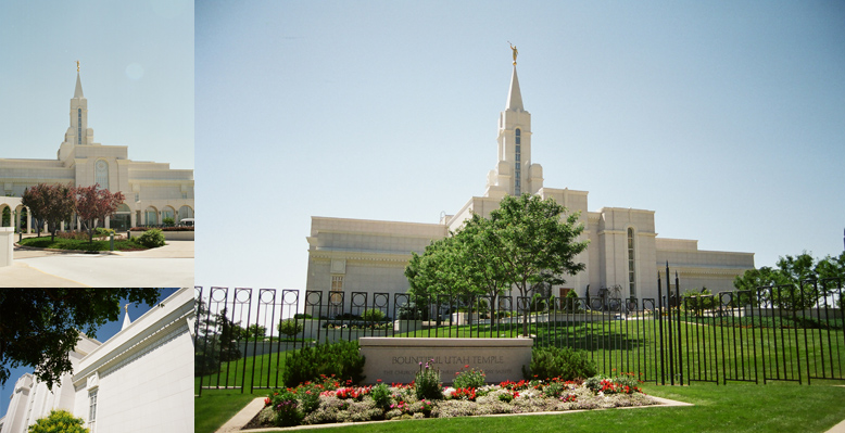Bountiful Utah Temple, May 20, 2003