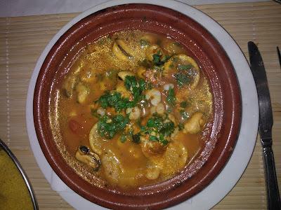 Seafood Tagine Bristol
