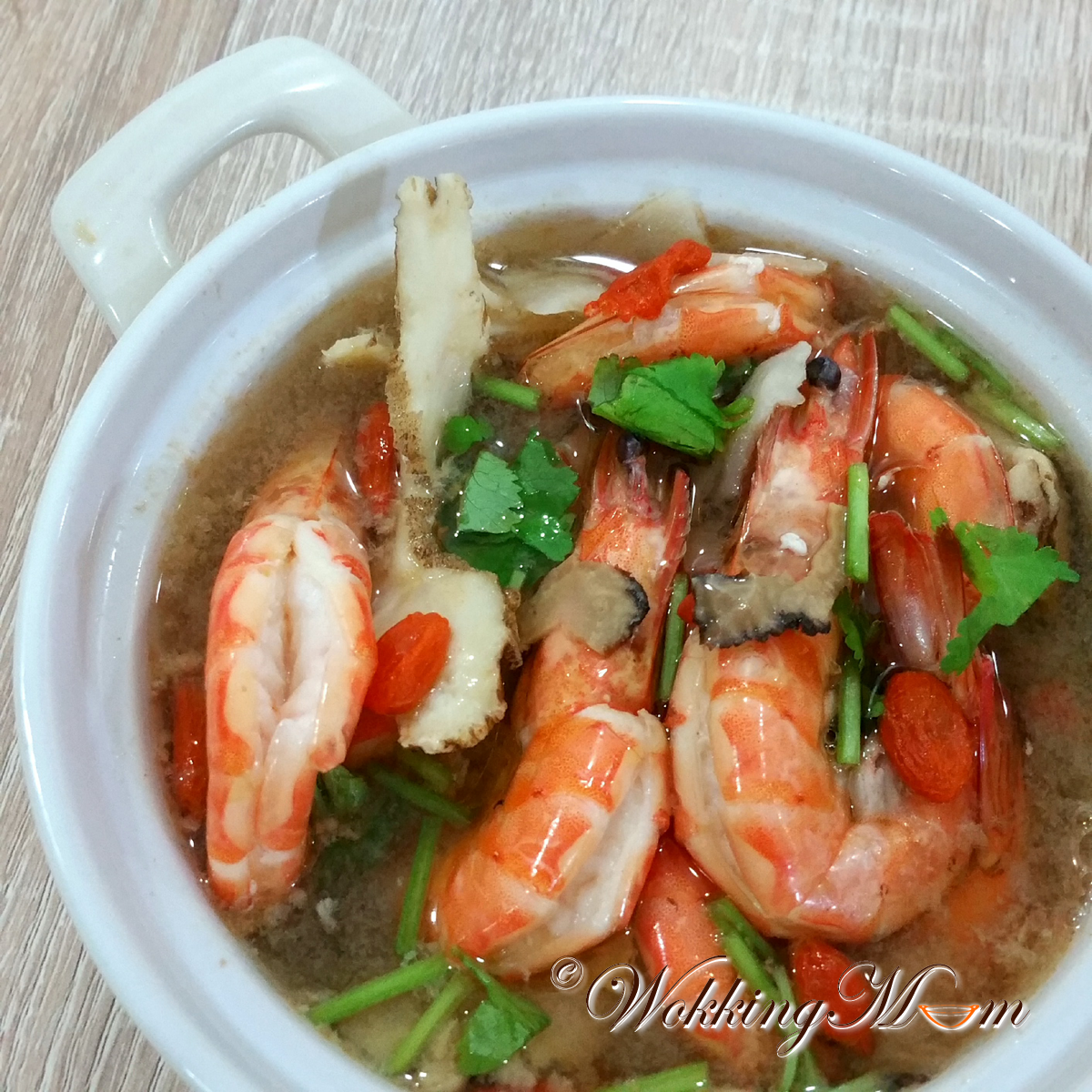 how to clean and cook tiger prawns