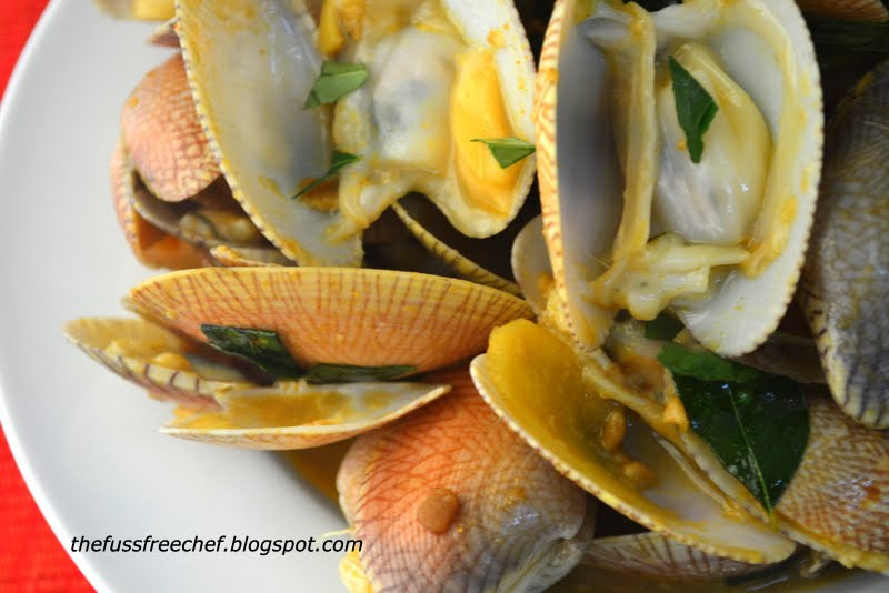 also like to cook lala clams in a simple broth with loads of ginger ...