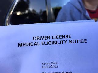 Medical Eligibility from DMV