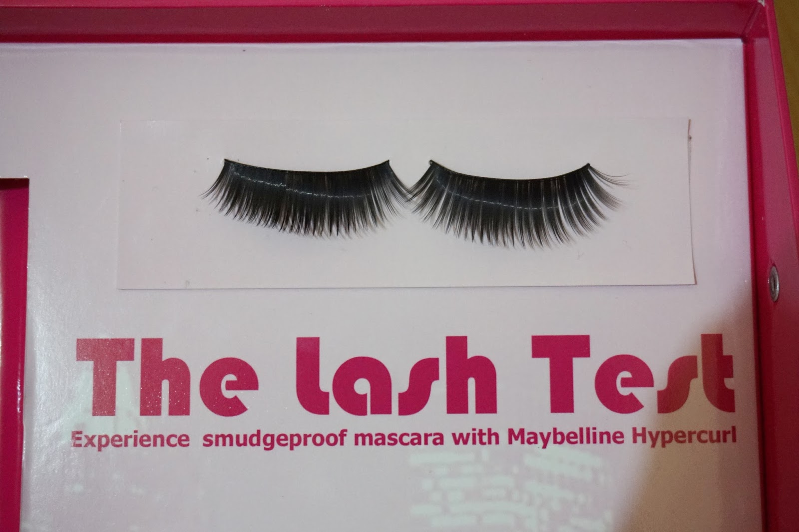 bare set of eyelashes