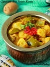 Capsicum And Potato Kurma