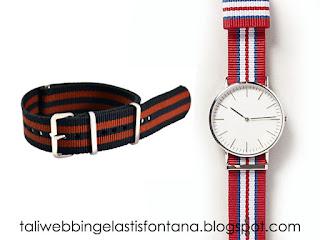 tali webbing untuk jam tangan
