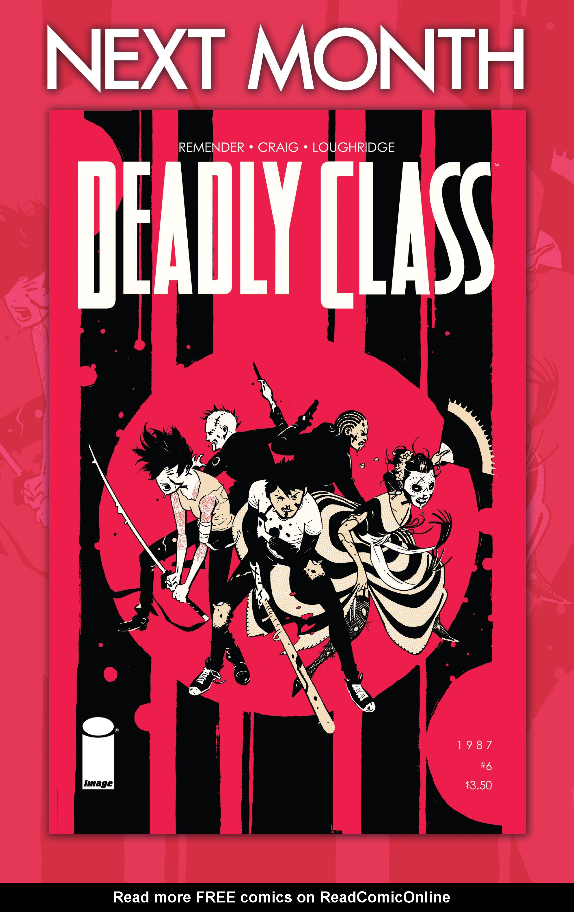 Read online Deadly Class comic -  Issue #5 - 30