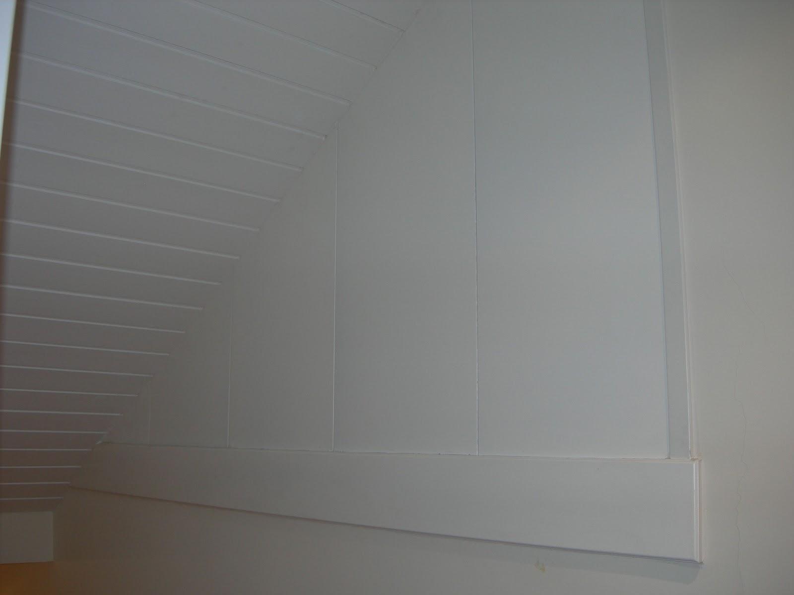 Forrados de madera en techos y paredes carpinter a y - Techos de madera blanco ...