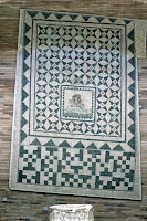 Mosaico romano siglo II d. C.  Museo arqueológico de Mérida