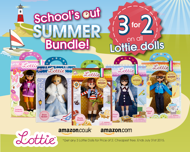OFFER ON LOTTIE DOLLS