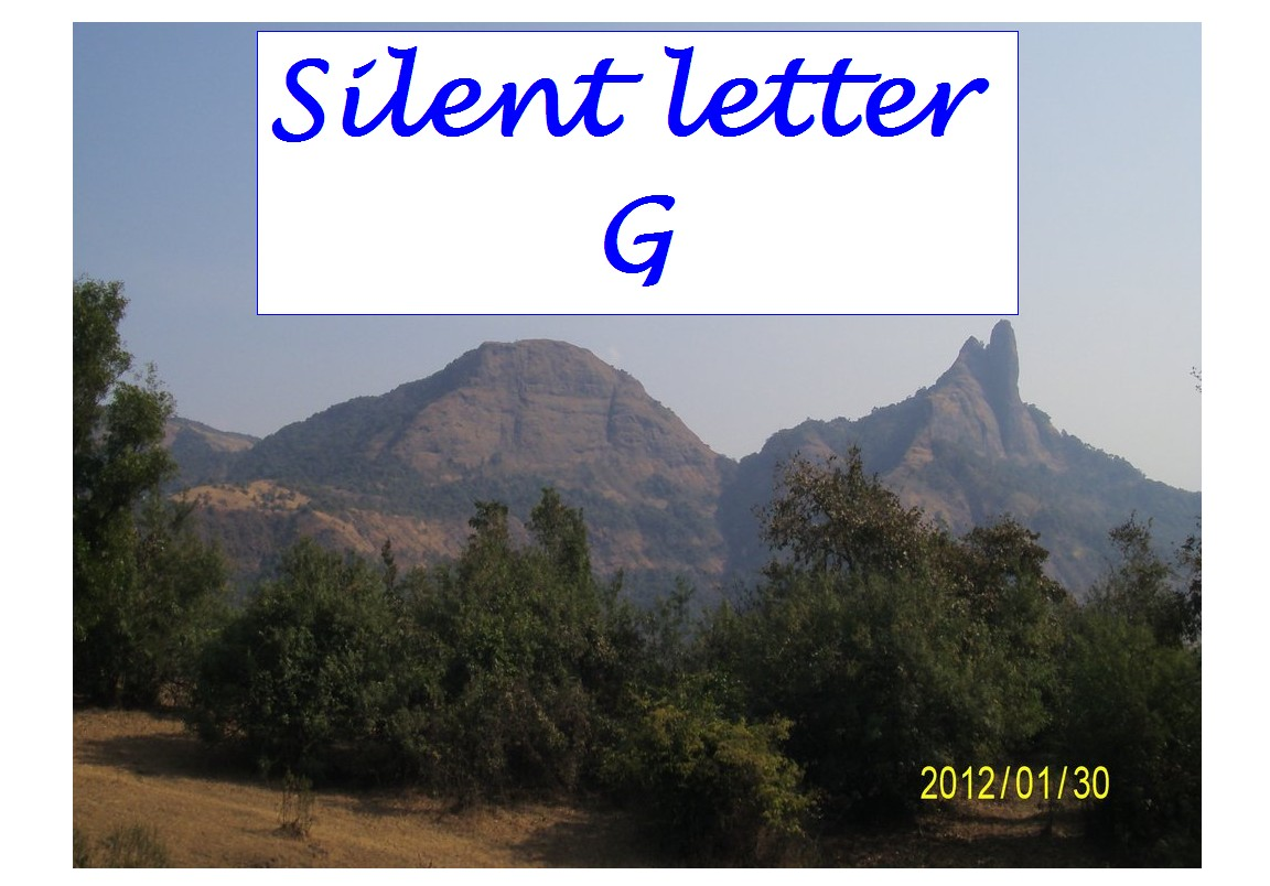 Silent Letter G Silent Letters In English Words