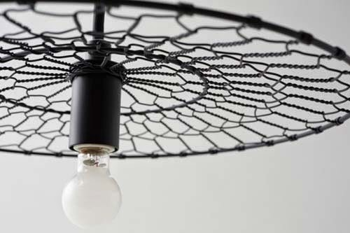 Furniture design basket lamps by Nendo and Kanaami-Tsuji