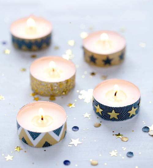 diy bougies chauffe plat
