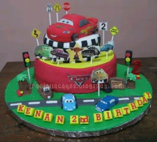 Cars Cakes for Children Parties