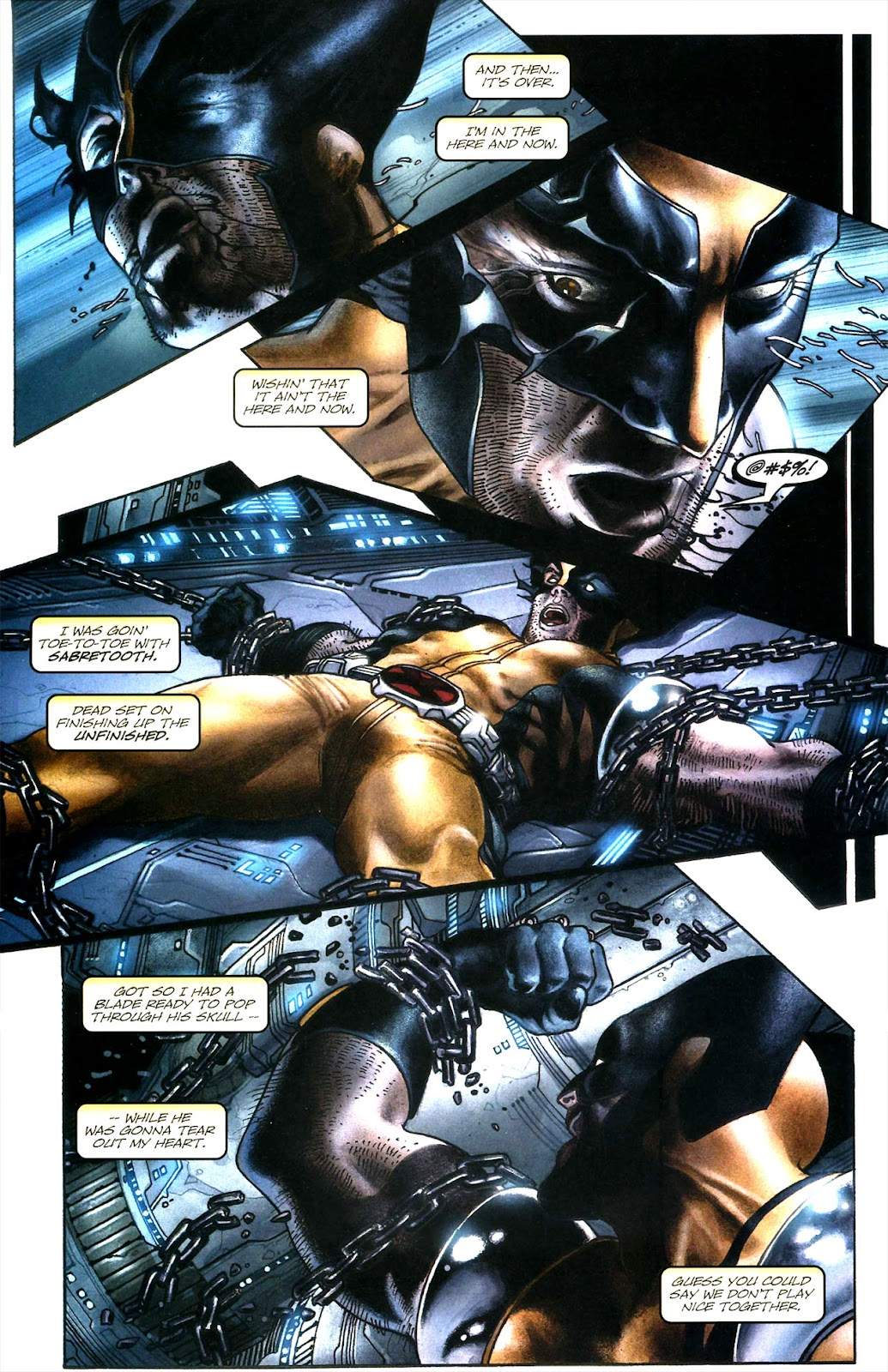 Read online Wolverine (2003) comic -  Issue #51 - 6