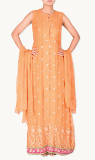 Bareeze Chiffon Dresses for Girls