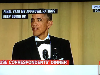 POTUS Entertains at Press Dinner