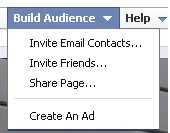 Share your Facebook page