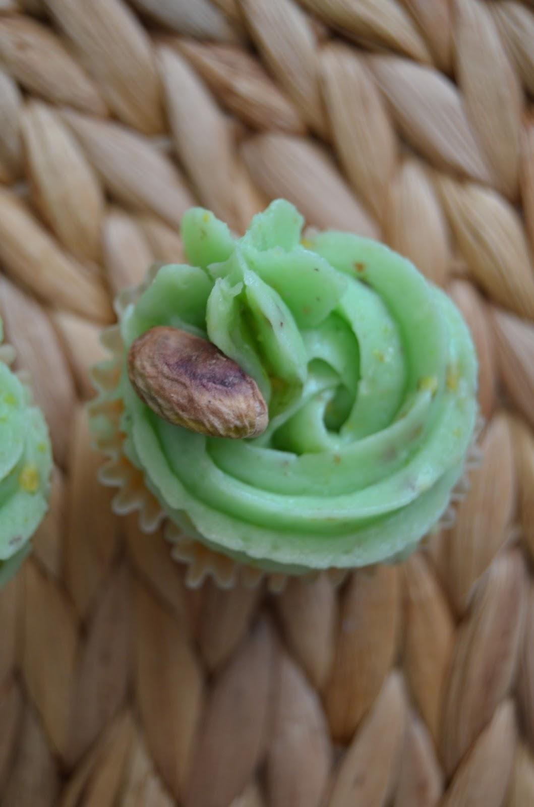 Cupcakes de Pistacho