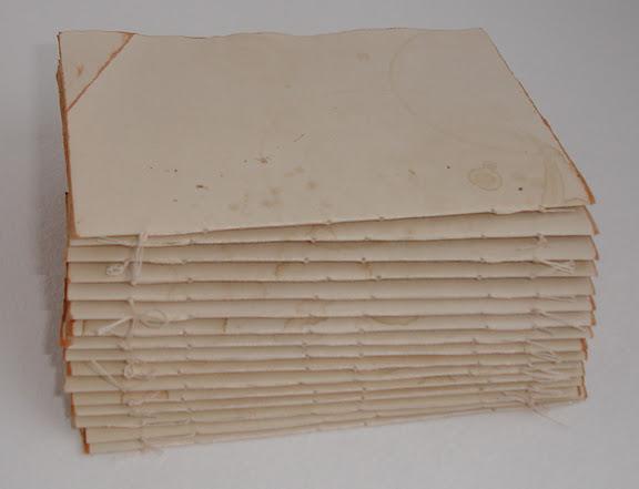 Как сделать блокнот со старым листами