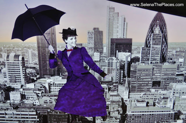 Mary Poppins The View from The Shard London