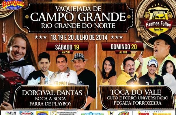 VAQUEJADA DE CAMPO GRANDE/RN