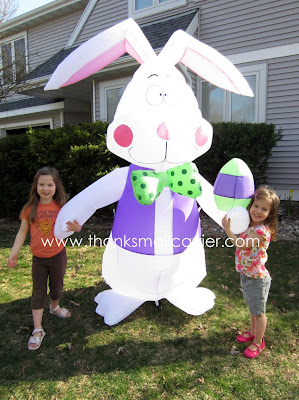 Airblown Inflatable Easter Bunny review