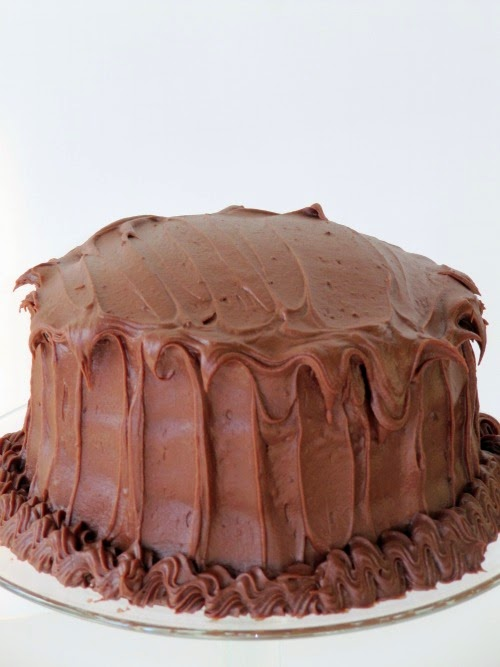 Once Upon A Chocolate Life: Hershey's Perfectly Chocolate Cake