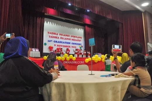 Majlis Graduation Tadika Pelangi Kreatif anak-anak