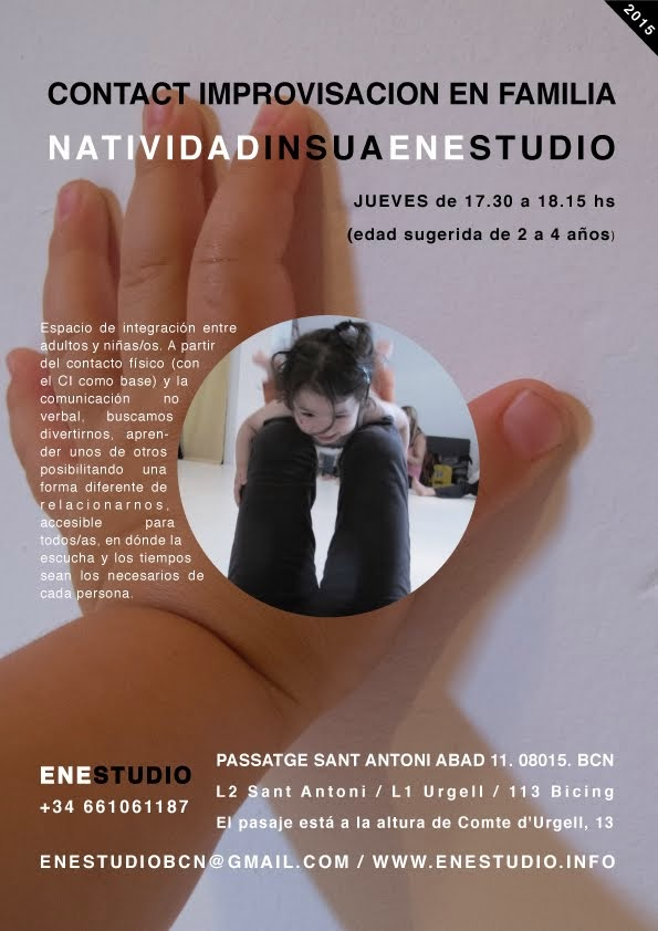 Contact Improvisación en Familia