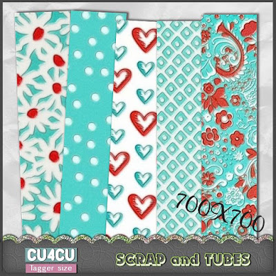 Pretty Embossed Papers (CU4CU) .Pretty+Embossed+Papers_Preview_Scrap+and+Tubes