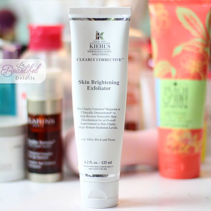 Current Face Scrub: Kiehl's Clearly Corrective Skin Brightening Exfoliator