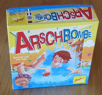 Arschbombe - The box artwork