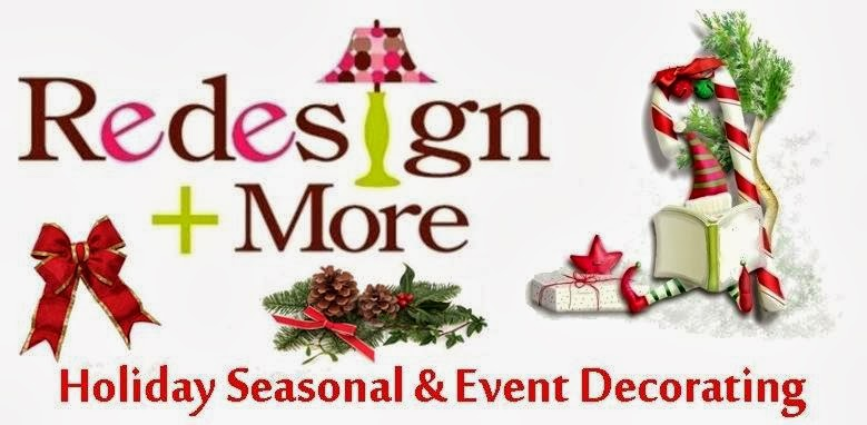 Charlotte NC Holiday Event Decorating Services- Redesign+More- Holiday Decorating Company