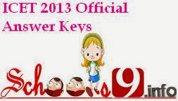 ICET Official Keys 2013