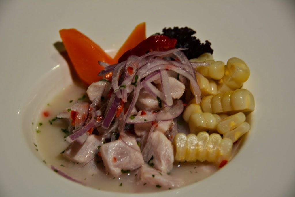 Hotel Costa del Sol, Lima Airport restaurant ceviche