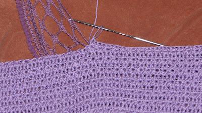 Описание вязания детской юбочки крючком
