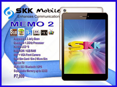 SKK Memo 2 Specs and Price Available
