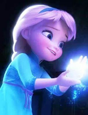 Foto Elsa Frozen Waktu Masih Kecil