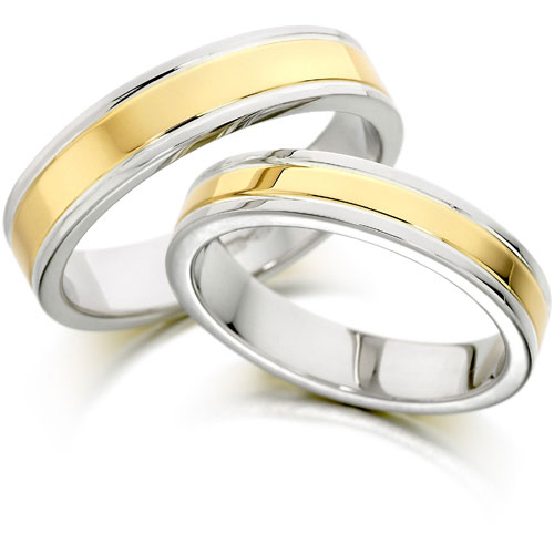 Simple White and Gold Wedding Rings, Simple White and Gold Wedding Rings, Simple Wedding rings, White Gold Wedding Rings, Gold Wedding Rings, Couple Wedding Rings, Luxury Wedding Rings, Exclusive Wedding Rings, Wedding rings Ideas, Wedding Concept Ideas, Wedding Solution