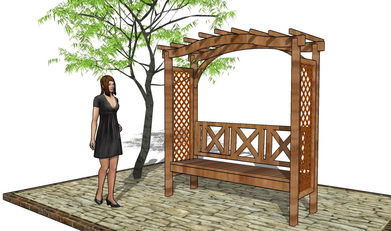 Picnic Table Plans: Outdoor Pergola Plans