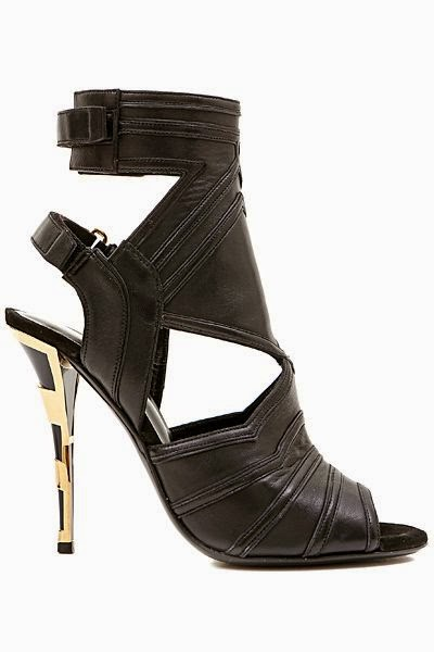 Fetish Accessories : Balmain Leather Shoes SS 2015