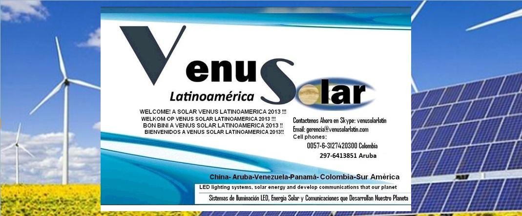 VENUS SOLAR LATINOAMERICA V.S.L.