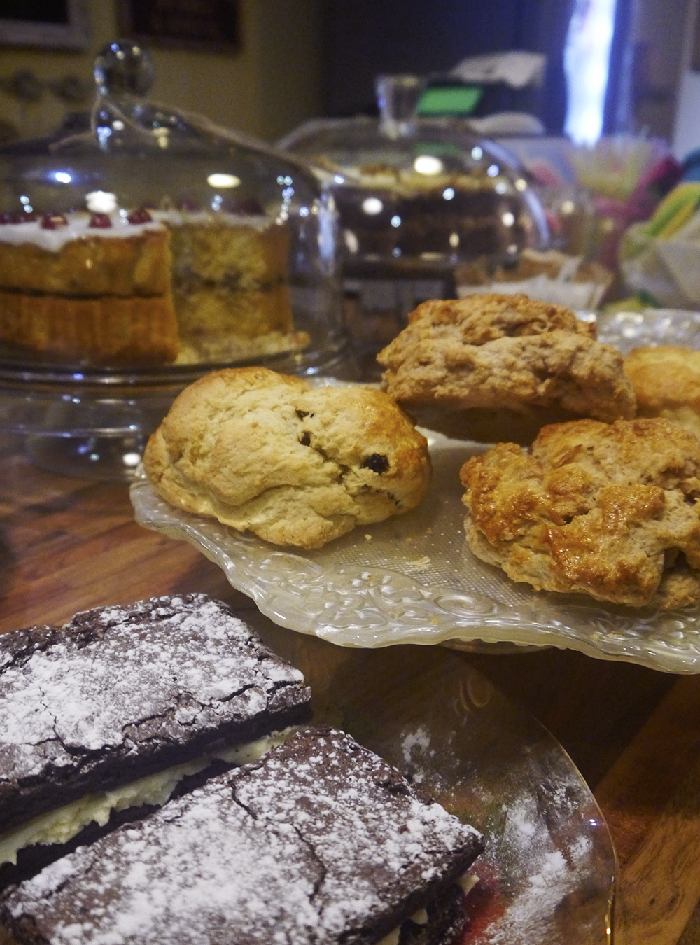 cake, scones, brownies, The Palais Dundee, cafe, dundee cafe, places to visit Dundee