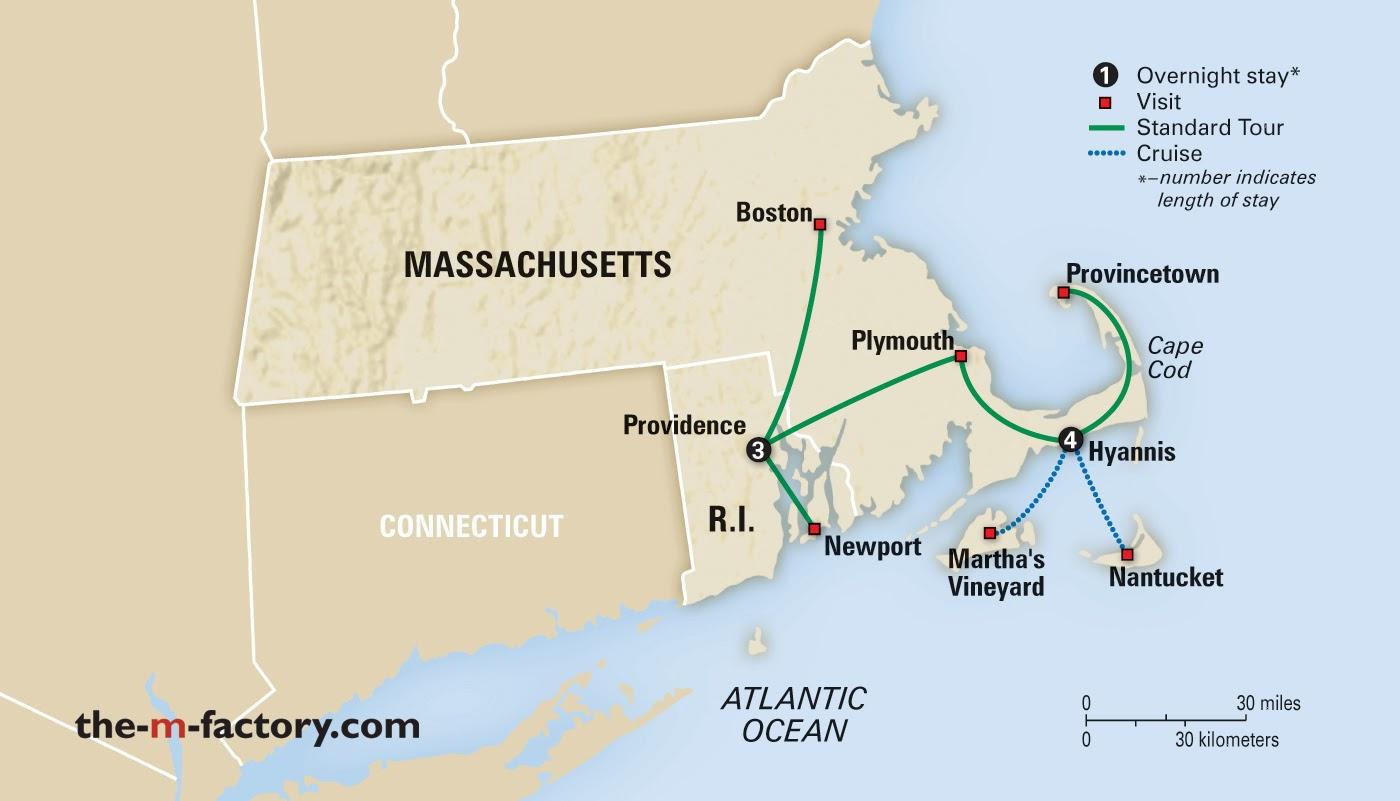 Providence Rhode Island To Martha S Vineyard
